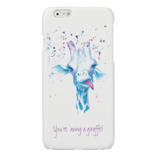 You're 'aving a giraffe iPhone 6/6s Glossy Finish iPhone 6 Plus Case