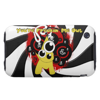 Youre Freakin Me Out iPhone 3G 3GS Tough Case iPhone 3 Tough Cases