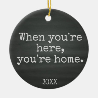You're Home - Foster Care Adoption Gifts Christmas Ornament