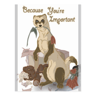 You're Important Postcard