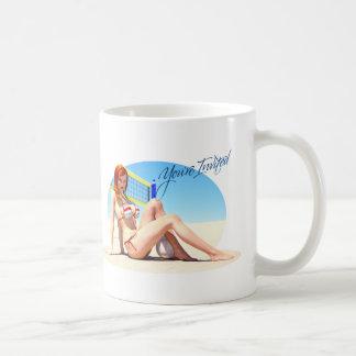 You're Invited Belle Basic White Mug