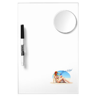 You're Invited Belle Dry Erase White Board