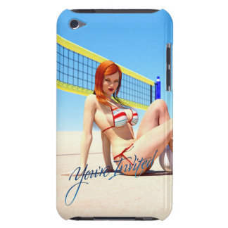 You're Invited Belle iPod Touch Case