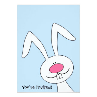 You're Invited Easter Bunny Party Invitation