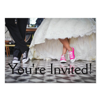 You're Invited Fun Wedding Invitation