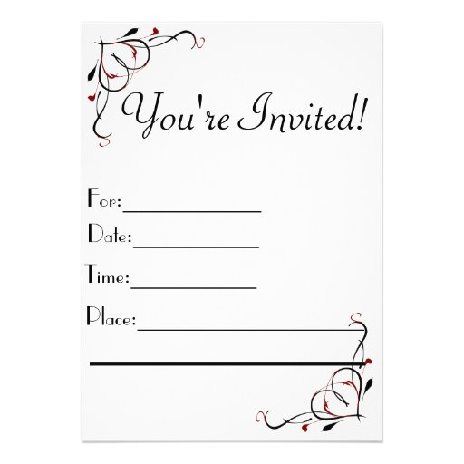 you're invited template