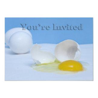 """You're Invited -  Multi Purpose Food/Breakfast 5"""" X 7"""" Invitation Card"""