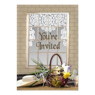 YOU'RE INVITED - MULTI-PURPOSE - GARDEN/WINDOW 13 CM X 18 CM INVITATION CARD