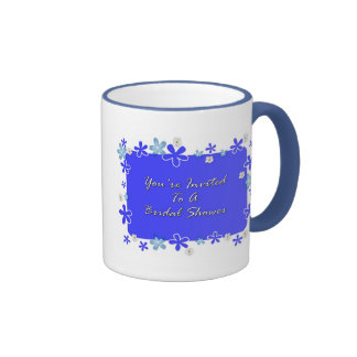 You're Invited To A Bridal Shower Ringer Mug