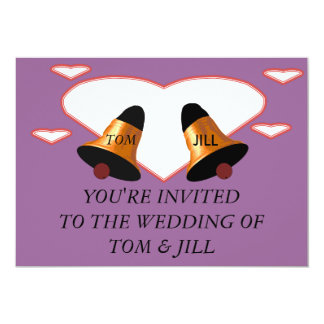 You're invited to a wedding Invitation card