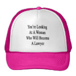 You're Looking At A Woman Who Will Become A Lawyer Hats
