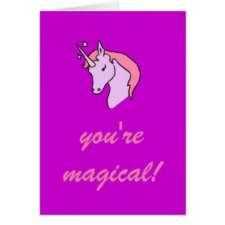 You're Magical Valentine's Day Card