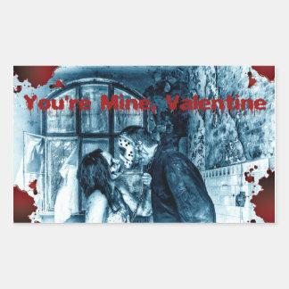 You're Mine Valentine Sticker