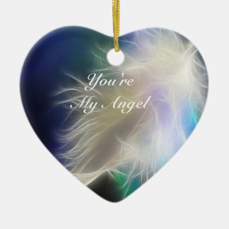 You're my Angel! Ceramic Heart Decoration