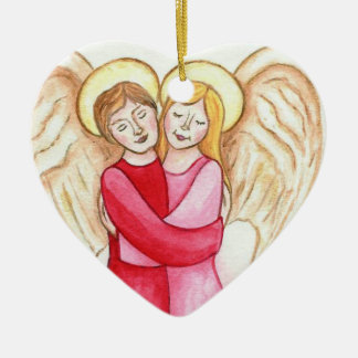 You're My Angel Heart Christmas Ornament