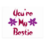 You're My Bestie Post Cards