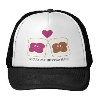 You're My Better Half Mesh Hats