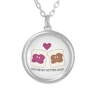You're My Better Half Necklaces