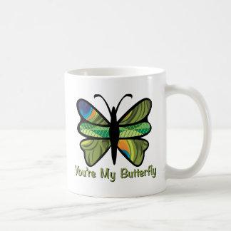 You're My Butterfly Basic White Mug