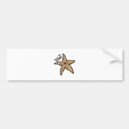 Youre My Star Bumper Stickers