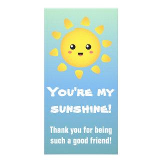 You're my Sunshine! Happy Sun Cartoon Photo Cards
