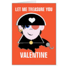 You're My Treasure Valentine Card