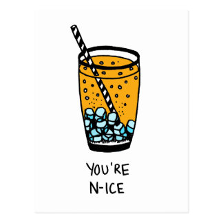 You're N-Ice Postcard