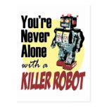 You're Never Alone with a Killer Robot Postcards