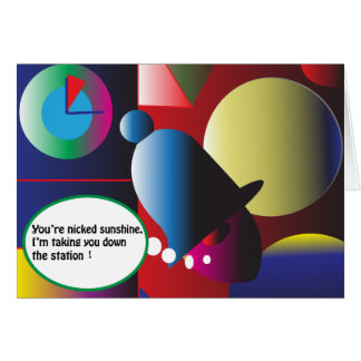 You're Nicked! Card