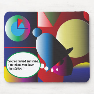 You're Nicked! Mouse Mat