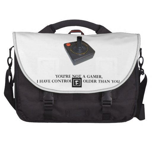 You're not a gamer. commuter bags