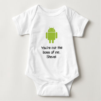 You're not the boss of me, Steve Baby Bodysuit