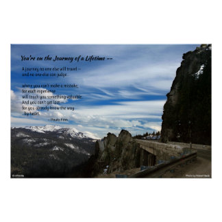 You're on the Journey of a Lifetime...Poster Poster
