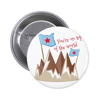 Youre On Top 6 Cm Round Badge