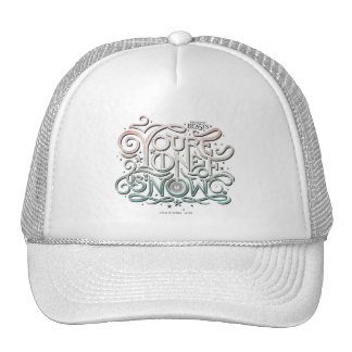 You're One Of Us Now Colorful Graphic Cap