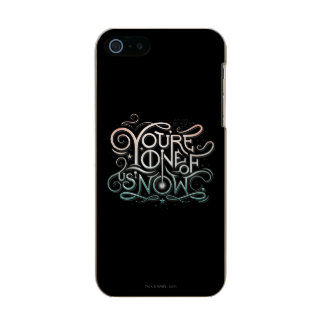 You're One Of Us Now Colorful Graphic Incipio Feather® Shine iPhone 5 Case
