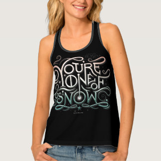 You're One Of Us Now Colorful Graphic Tank Top