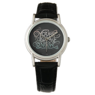 You're One Of Us Now Colorful Graphic Watch