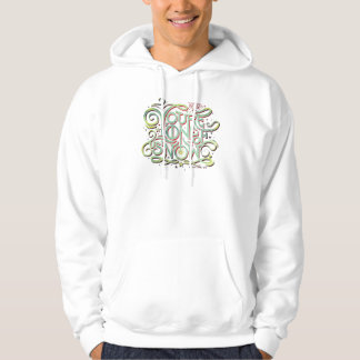 You're One Of Us Now Green Graphic Hoodie
