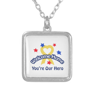 YOURE OUR HERO PERSONALIZED NECKLACE