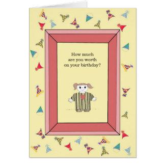 You're Priceless - Birthday Greeting Card
