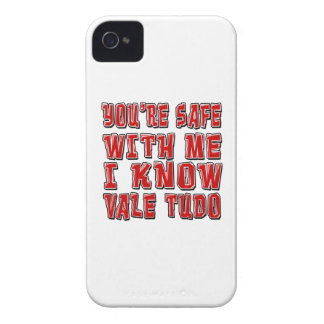 You're safe with me i know VALE TUDO. iPhone 4 Cover