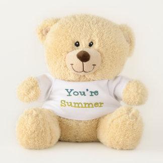 You're Summer Teddy Bear