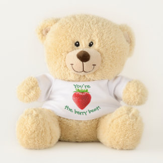 YOU'RE THE BERRY BEST TEDDY BEAR