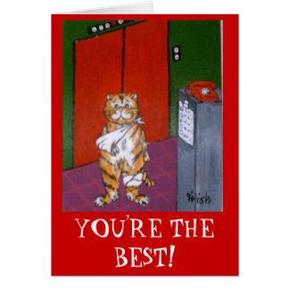 YOU'RE THE BEST! CARD