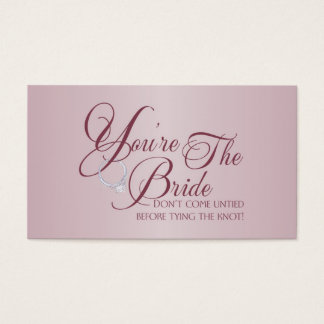 You're the Bride Business Cards
