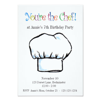 You're the Chef invitation