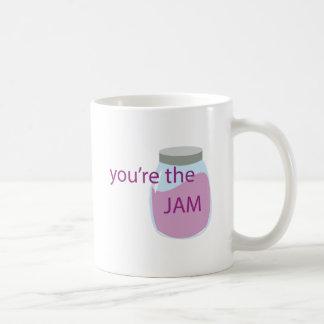 Youre The Jam Basic White Mug