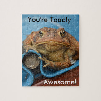 You're Toadly Awesome! Puzzle