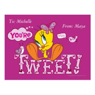 You're Tweet Postcard